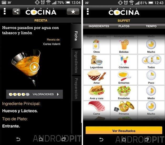 Las 10 mejores aplicaciones de cocina androidpit for Aplicacion para disenar cocinas