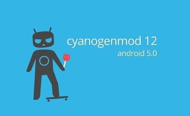 cyanogenmod 12 cm12 android lollipop