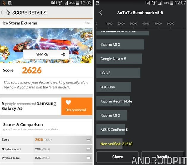 galaxy a5 benchmarks
