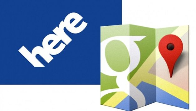 Google Maps vs Here Maps - Google y Nokia se enfrentan