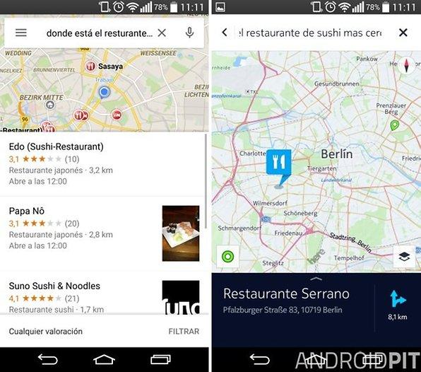 Google Maps vs Here Maps - Google y Nokia se enfrentan