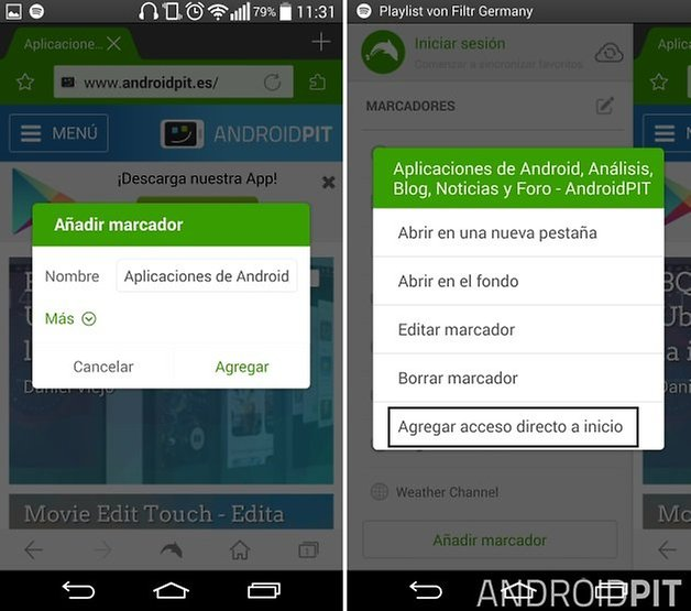 marcadores android 3