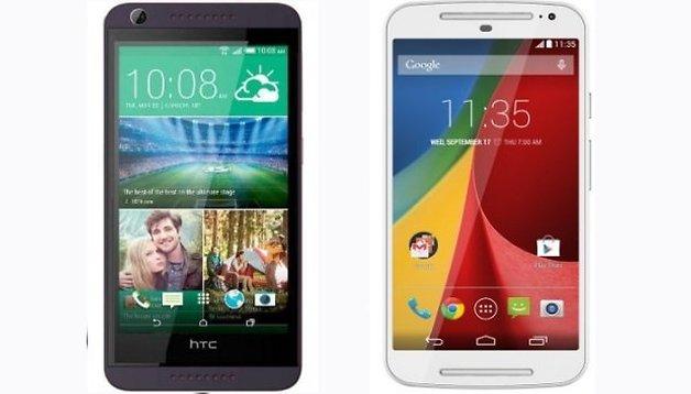 Motorola Moto G vs HTC Desire 626 - ¿Cambiará el rey de la gama media?