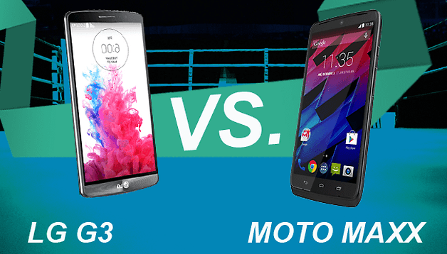 LG G3 vs Motorola Moto Maxx - Comparación