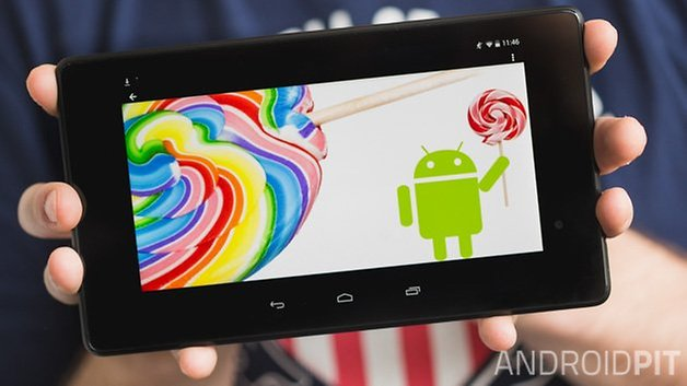 nexus7 lollipop
