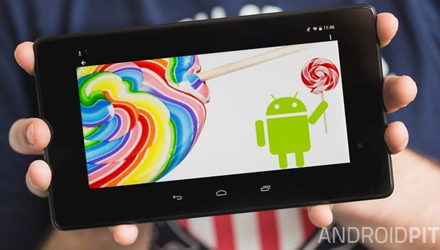 Nexus 7 : Installez Android 5.0 Lollipop tout de suite !