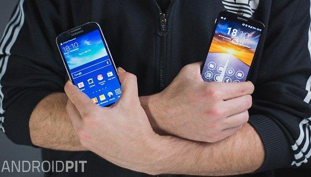LG G2 vs Samsung Galaxy S4 - Comparación
