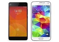 Samsung Galaxy S5 vs Xiaomi Mi4 - Comparación