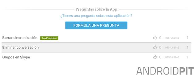 skype perfil de app