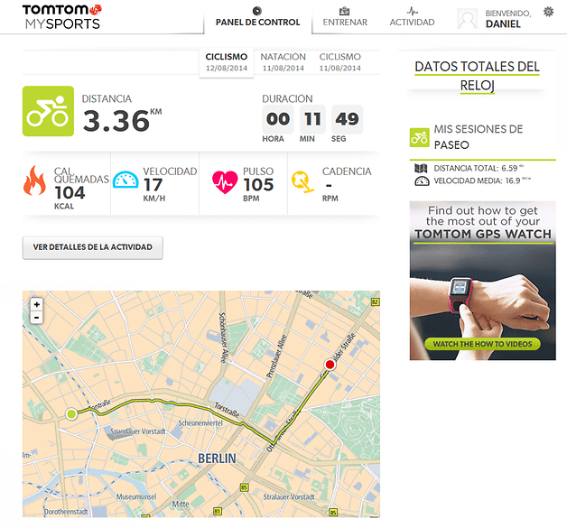 tomtom screenshot