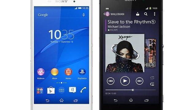 Test comparatif : Sony Xperia Z3 vs Sony Xperia Z2