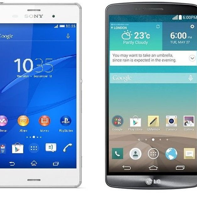 Sony Xperia Z3 vs LG G3: it's all about the money, honey | AndroidPIT