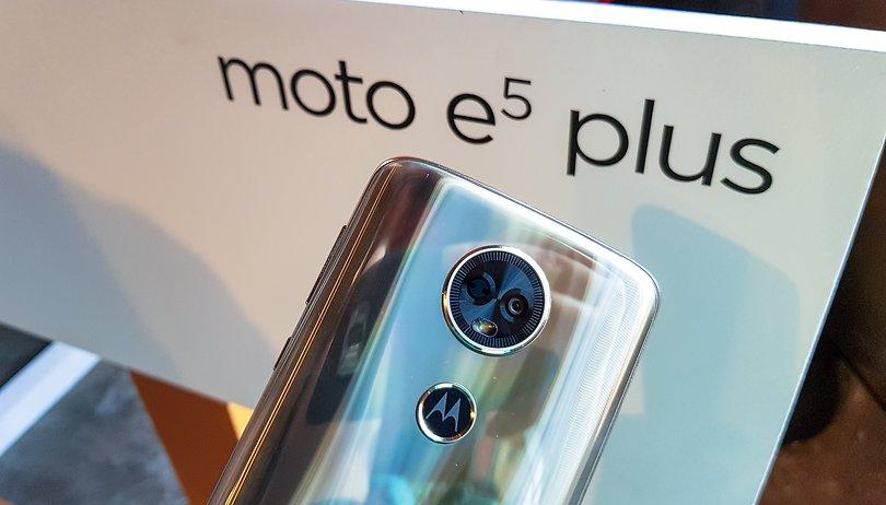 Moto E5 Plus tem bateria de 5.000 mAh e chega custando R$ 949
