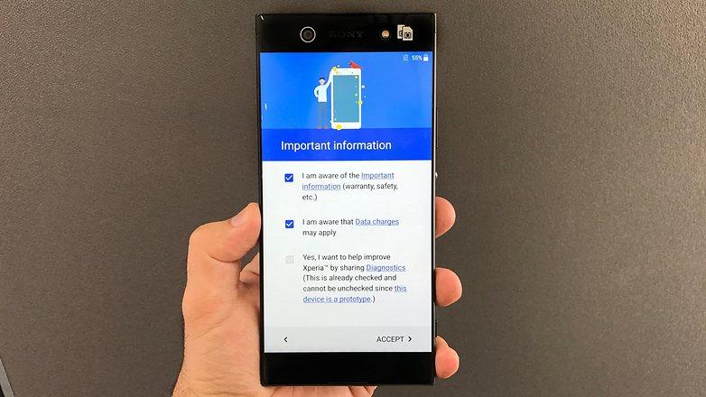 AndroidPIT Sony Xperia XA1 Ultra 72