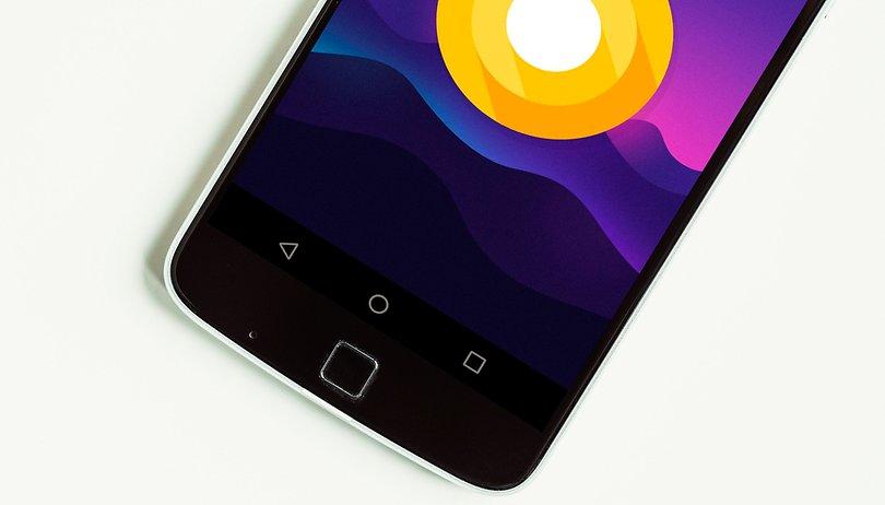 Este é o Moto Z Play após atualização para o Android Oreo