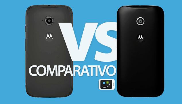 Comparativo: Moto E 2014 vs. Moto E 2015