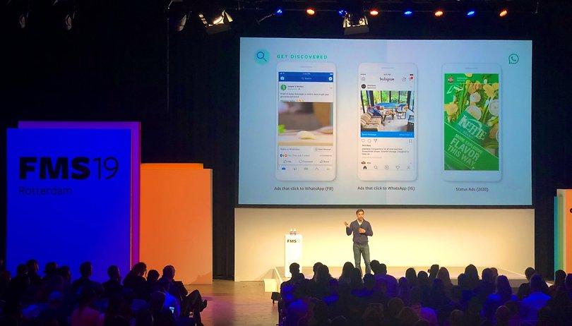 WhatsApp irá exibir propagandas em tela cheia no Status a partir de 2020