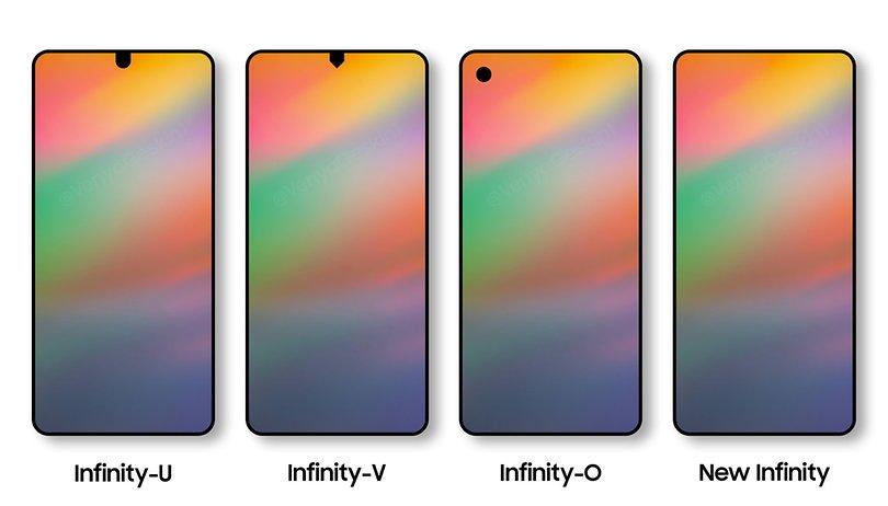 Samsung deve lançar intermediários com biometria sob a tela e novo display Infinity