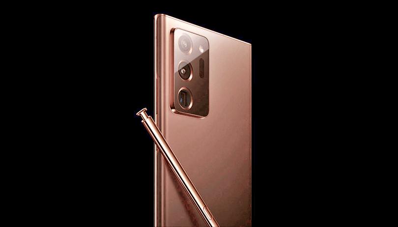 Site da Samsung vaza imagem oficial do Galaxy Note 20 Ultra