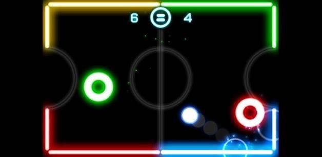 Glow Hockey 2