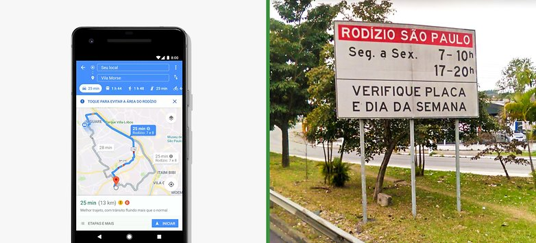 Google Maps Rodizio Sao Paulo side