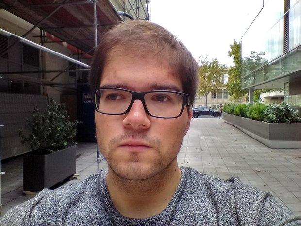 Teste de câmera do BlackBerry Priv