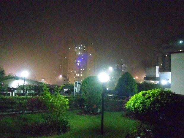 Captura em modo noturno.
