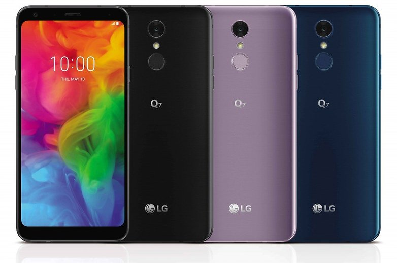 LG Q7 03 1024x678 Os melhores smartphones com TV digital - Winew