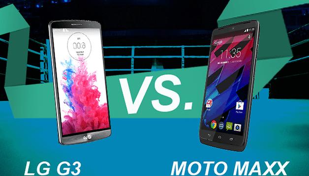 LG G3 vs. Moto Maxx: Qual você deve comprar?