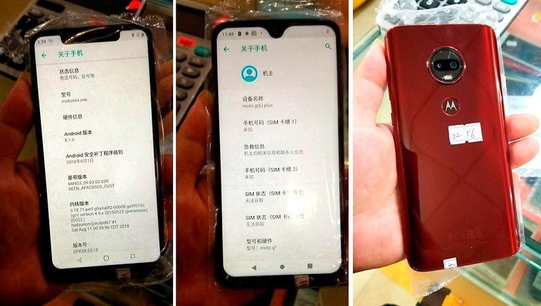 Motorola Moto G7 Rumor