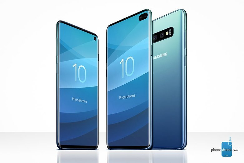 Samsung Galaxy S10 and S10 leak in full heres a closer look