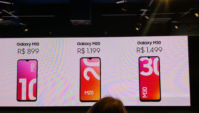Samsung Galaxy M10, M20 e M30 chegam ao Brasil custando até R$ 1.499