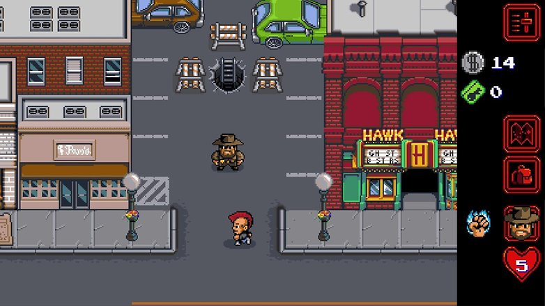 a screenshot of stranger things the game