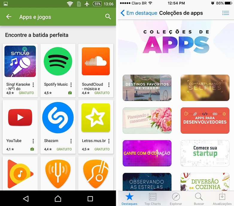 androidpit colecao apps ios