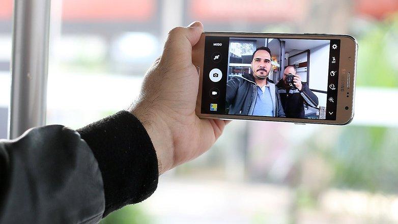 androidpit galaxy j7 camera selfie