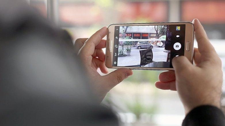 androidpit galaxy j7 camera