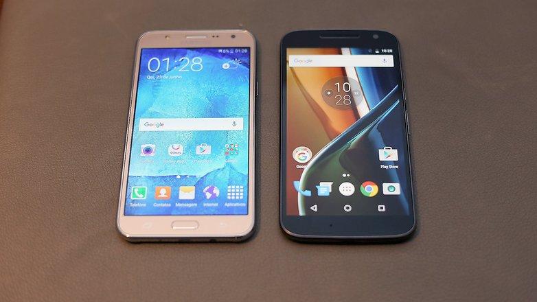 androidpit motog4 galaxyj7 comparativo