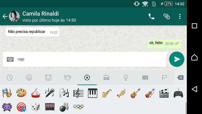 androidpit whatsapp emoji olympic