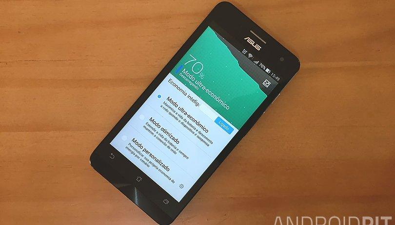 Zenfone 5: como economizar bateria e prolongar sua duração