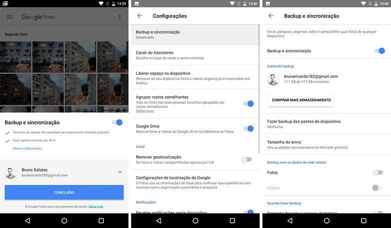 back up google fotos tips security