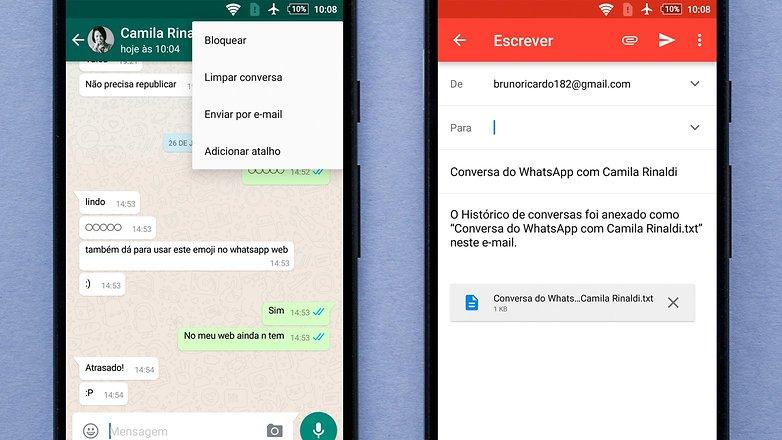 Fa 231 A Backup Das Conversas Do Whatsapp E Ganhe Mais Espa 231 O