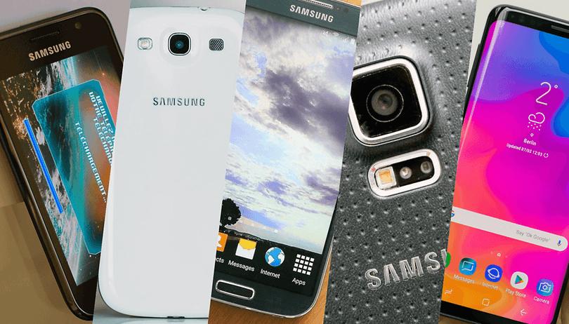 Evolução da linha Galaxy S da Samsung: do Galaxy S ao S9