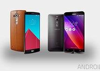 Test comparatif : Asus Zenfone 2 vs LG G4