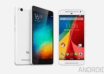 Xiaomi Mi 4i vs. Motorola Moto G 2014: quase a mesma coisa!