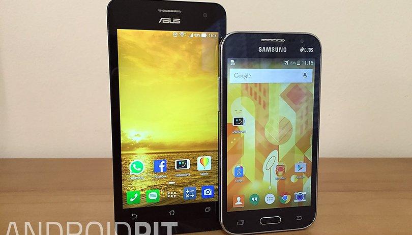 Samsung Galaxy Win 2 Duos 4G vs. Asus Zenfone 5: qual você deve escolher?