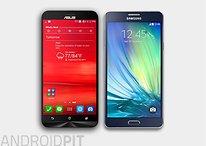 Zenfone 2 (ZE550ML) vs. Galaxy A7: intermediários aspirantes a top de linha