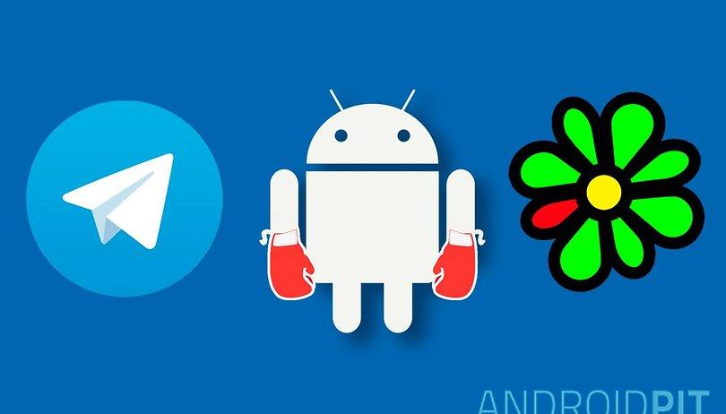 Telegram vs. ICQ: qual é o melhor app de mensagem?