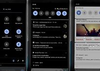 Tema escuro do Android Q só funciona com modo de bateria ativado