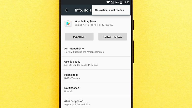 desin updates google play
