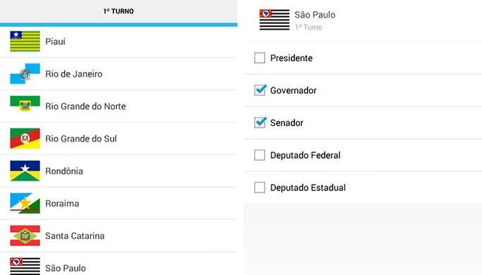 Acompanhe a apuração dos votos pelo seu dispositivo Android